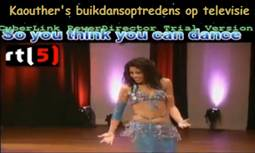 Buikdansoptredens buikdanseres Kaouther